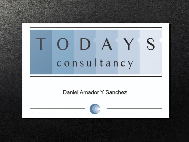 Brandaris vormgeving portfolio Todays consultancy visitekaart