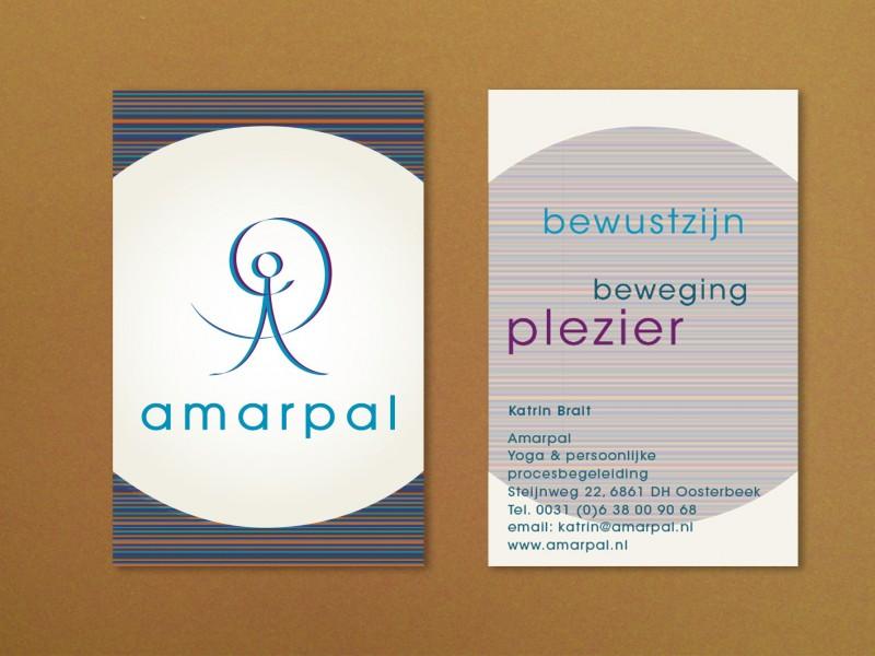 Brandaris vormgeving portfolio amarpal bewustzijn beweging plezier visitekaart huisstijl