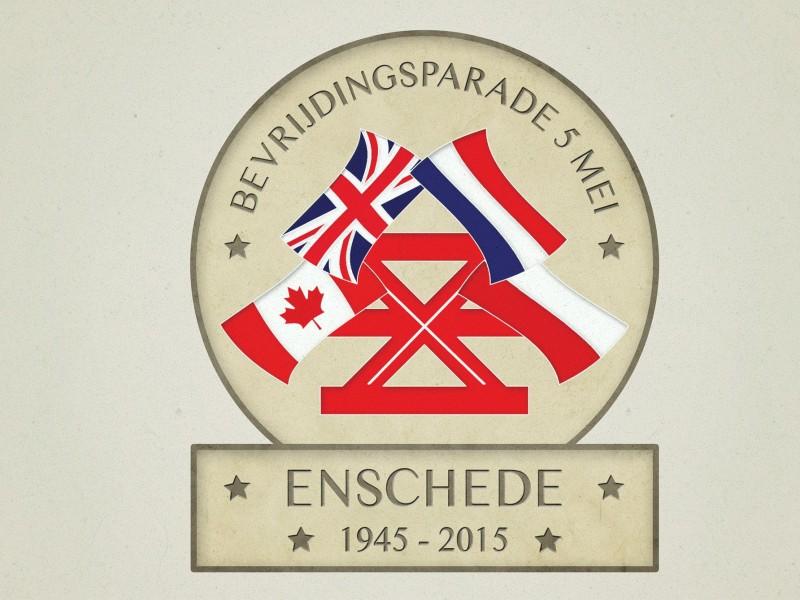 Bevrijdingsparade Enschede Logo Brandaris Vormgeving